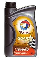 TOTAL ( トタル ) エンジンオイル【QUARTZ RACING】10W-60 1L 182162-18PK【HTRC3】
