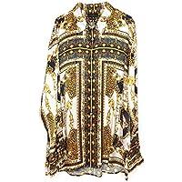 Zara Men Baroque Print Shirt 7545/290 (X-Large) White