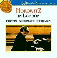 Horowitz;in London
