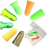 MOLDEX使い捨て耳栓コード無しお試し8種エコパックケース付(CamoplugsSparkplugsGoin'greenMeteorsSoftiesMellowsPura-fit各1ペア)