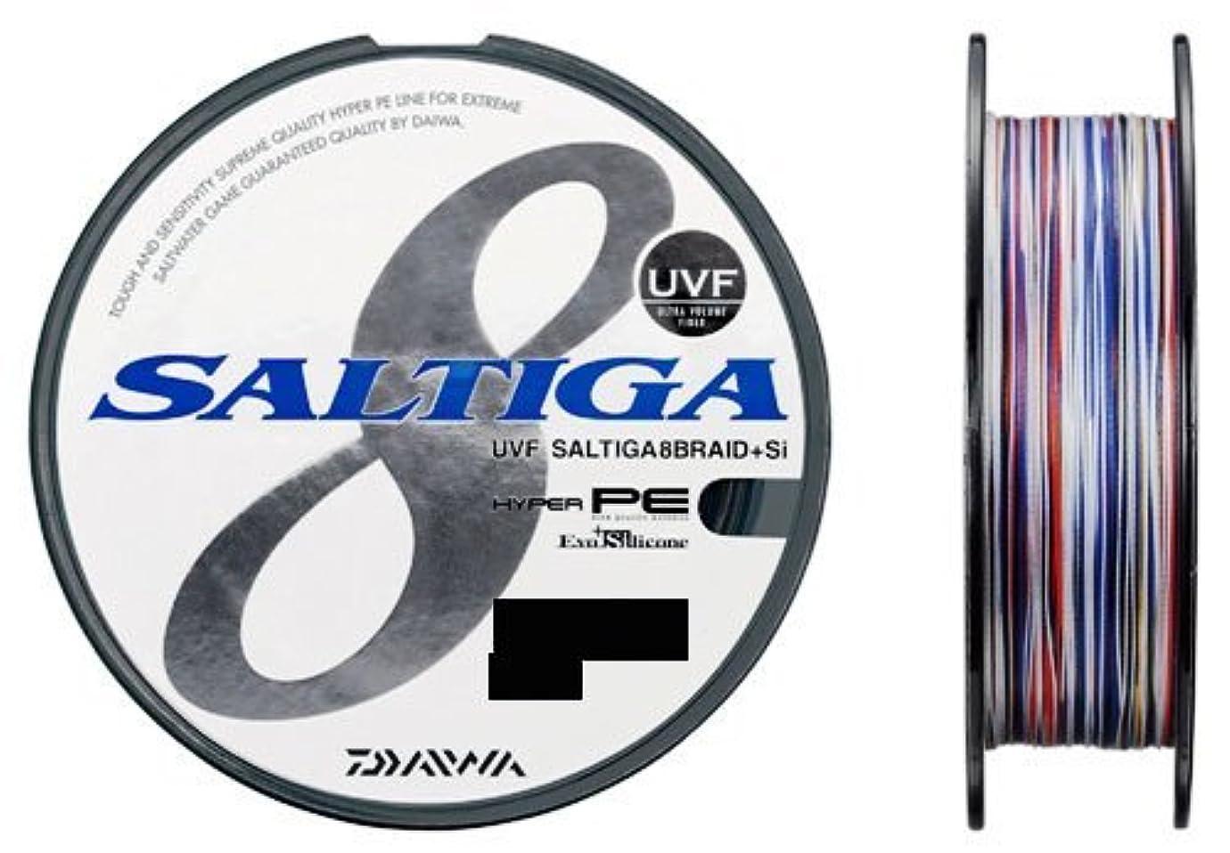 ビデオイースターはっきりしないダイワ(Daiwa) PEライン UVF ソルティガ 8ブレイド+Si 100m 8号 113lb マルチカラー