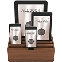 Alldock Medium Walnut Base with Walnut Top (Walnut/Walnut)