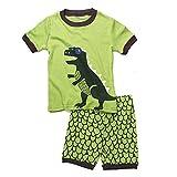 (ディゾン)dizoon [春 夏 シリーズ]キッズ 子供 男の人 服 パジャマ 綿100% 半袖 Tシャツ 半ズボン 恐竜 1-12歳