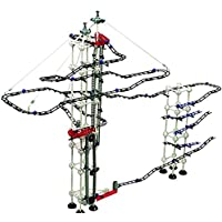 Odyssey Battery-Operated Dual-Motor Marble Run – Advanced, Fun Design Transports Marbles on Elevator! – Contains 520 Pieces +60 Marbles; for Builders Age 12+ [並行輸入品]