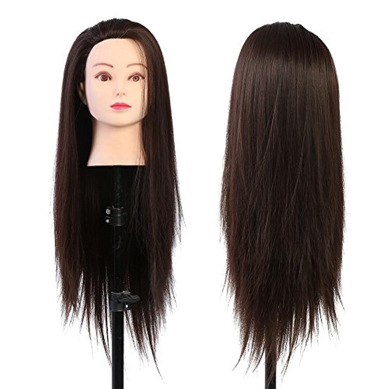 スリチンモイアクロバット閃光メイクアップマネキンヘッド美容院のトレーニングヘッド美容師の人形頭のブロンドダークブラウン