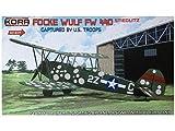 コラモデルス 1/72 フォッケウルフ Fw44D USAAF鹵獲機 ハイテック版 プラモデル KORPK72051