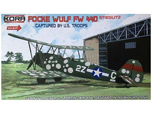 1/72 フォッケウルフ Fw44D USAAF 鹵獲機  ハイテック   エッチングパーツ付  KORPK72051  コラモデルス  KORPK72051 フォッケウルフ Fw44D USAAF ハイテック  B