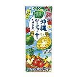 カゴメ 野菜生活100 沖縄シークヮーサーミックス195ml ×24本
