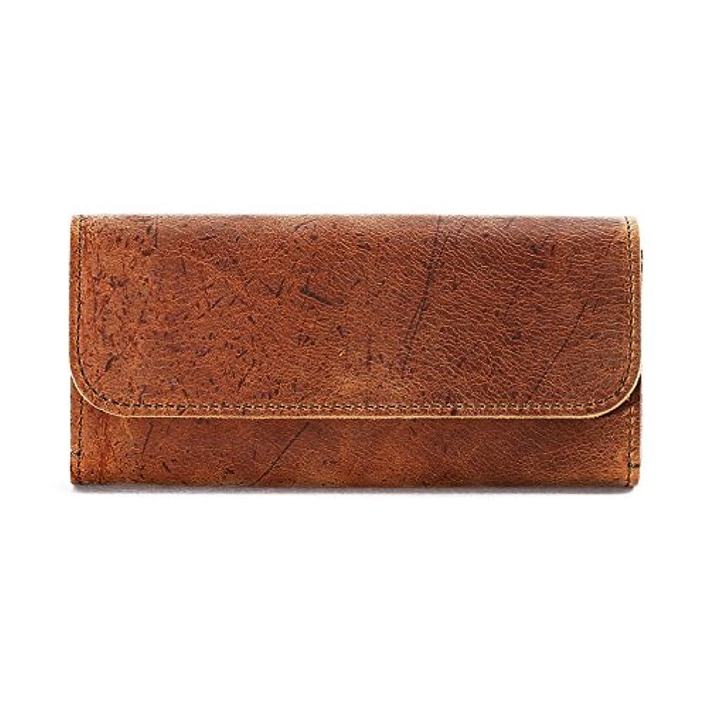 縞模様のランドマーク特権スロウ 長財布 long wallet kudu 333S26C