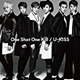 One Shot One Kill♪U-KISSのCDジャケット