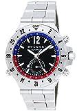 BVLGARI (ブルガリ) 腕時計 GMT40SSD スクーバ GMT ブラック メンズ [並行輸入品]