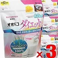 【3個】井藤漢方製薬 オオバコダイエット約62日 500gx3