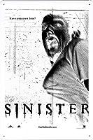 映画の金属看板 ティンサイン ポスター / Tin Sign Metal Poster of Movie Sinister #5