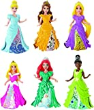 Mattel Little Kingdom Disney Princesses 6 Piece Magiclip Collection [並行輸入品]