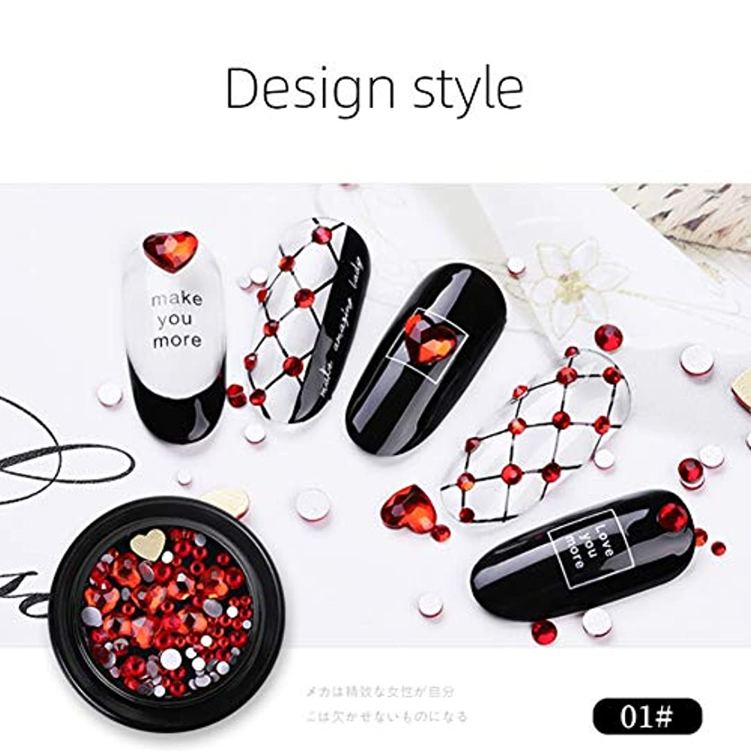 速い違反するクリアKISSION マニキュア ガラスドリルミキシング 光沢のあるスティックドリル ダイヤモンド ジュエリー装飾 ネイルDIY ファッションネイルアクセサリー