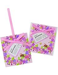 サンハーブ サシェ ピュアローズ 12個(芳香剤 香り袋 うっとり幸せなばらの香り)