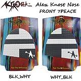 ASTRO Deck アストロデッキ Alex Knost Nose 【アレックスノスト】 ロングボード用フロントデッキパッド (BLK_WHT) [その他]
