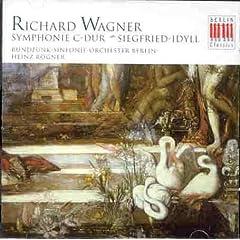 レーグナー指揮  ワーグナー交響曲ハ長調&ジークフリート牧歌の商品写真