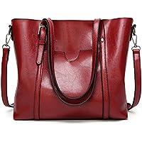 LOTEC Leather Tote Bag Women Handbags Female Designer Shoulder Bags Casual Messenger Bag Fashion Ladies Tote Bag