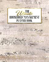 The Ultimate Household Management Planner Book: Birch Bark | Home Tracker | Family Record | Calendar | Contacts | Password | School | Medical Dental Babysitter | Goals Financial Budget Expense