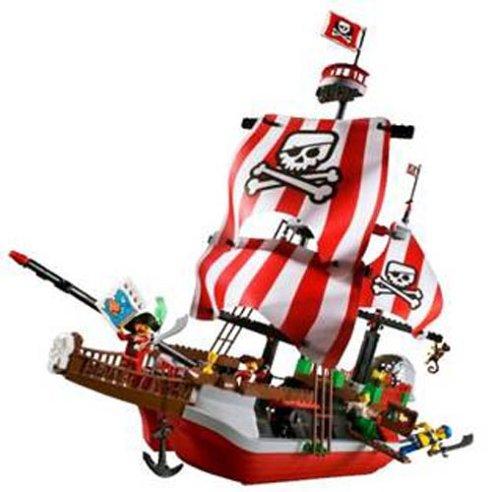 レゴ (LEGO) パイレーツジュニア 赤ひげ船長の海ぞく船 7075