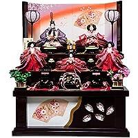 【雛人形収納飾】大三五親王芥子官女:美桜雛:伏見屋監修【雛人形】【親王飾】