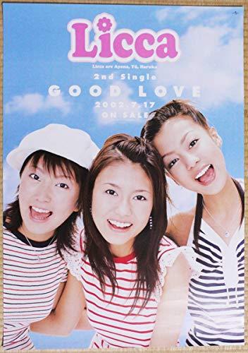 ポスター Licca 酒井彩名 あびる優 木南晴夏 GOOD LOVE B2ポスター
