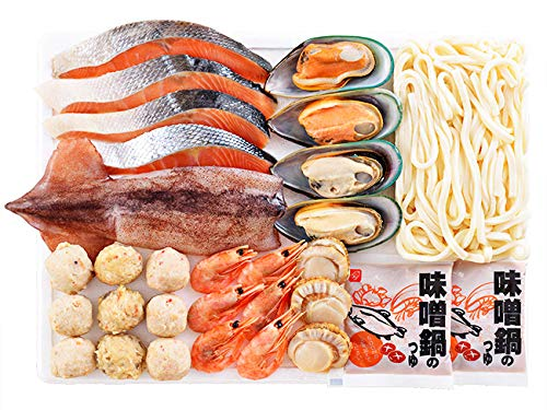 石狩鍋セット(北海道の郷土料理いしかりなべ) 海鮮鍋 サケの寄せ鍋(お歳暮・ギフト・贈答品)