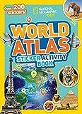 World Atlas Sticker Activity Book 画像