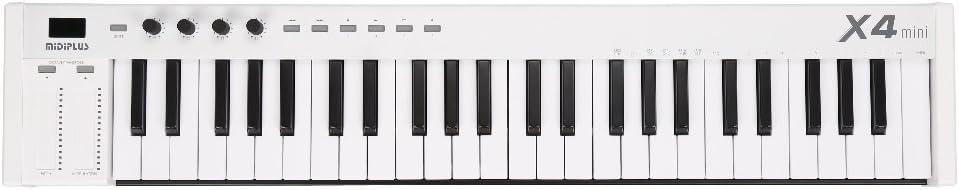 MiDiPLUS MIDIキーボードコントローラー X4 mini 49鍵 USB