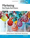 Cover of Marketing: Real People, Real Choices, Global Edition