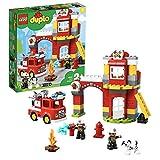 LEGO DUPLO Town Fire Station 10903 Building Blocks, 2019 (76 Pieces)