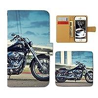 (ティアラ) Tiara Xperia Z3 401SO スマホケース 手帳型 bike 手帳ケース カバー バイク オートバイ ライダー ロード F0271020061305