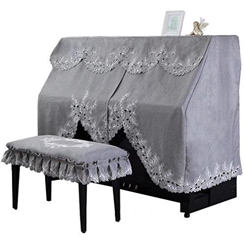 ピアノカバー アップライト 防塵カバー レース 花 可愛い 高級 ピアノ カバー 上品 厚手 ヨーロッパ風 人気 直立型 ピアノカバー おしゃれ HIMENO