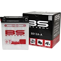 BSバッテリー BB12A-A (YB12A-A互換) 1個