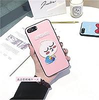 高品質刺繍 可愛らしいiphoneケース RYAN APEACH キャラクター ケース かわいい アイフォン7 iPhone6sケース iPhone7ケース カカオフレンズ スマホカバー iphoneX iphone10 (iphone6Plus/6sPlus, ピンク)