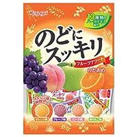 春日井製菓 のどにスッキリフルーツアソート 118g×12袋入×(2ケース)