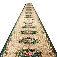 廊下ランナーカーペットロングラグソフトタッチ滑り止め耐摩耗性、人格ヨーロッパのファミリールーム複数のサイズ、カスタマイズ可能 HENGXIAO (Color : A, Size : 0.8*1m)