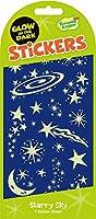 Peaceable Kingdom Glow in the Dark Starry Sky Sticker Pack [並行輸入品]