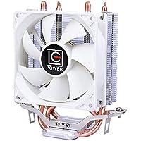 CPUクーラー CPUファン LC-CC-95A 92mmサイドフロー型 銅ヒートパイプ アルミ放熱フィンIntel対応 AMD対応 高熱伝導率 静音性 組付簡単 初心者 ゲーム用 仕事用