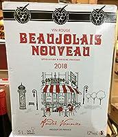 アンドレ ボニエー ボジョレー ヌーボー 2018年 5L BIB(2箱)