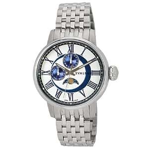 [スヴァルバル]SVALBAL 腕時計 5BAR N夜光 ムーンフェイズ SV03-MWH メンズ