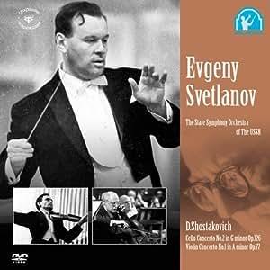 ショスタコーヴィチ:チェロ協奏曲第2番/ヴァイオリン協奏曲第1番 [DVD]