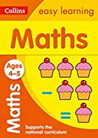 Maths Ages: Ages 4-5 (Collins Easy Learning Preschool)【洋書】 [並行輸入品]