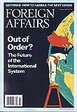 Foreign Affairs [US] January - February 2017 (単号)