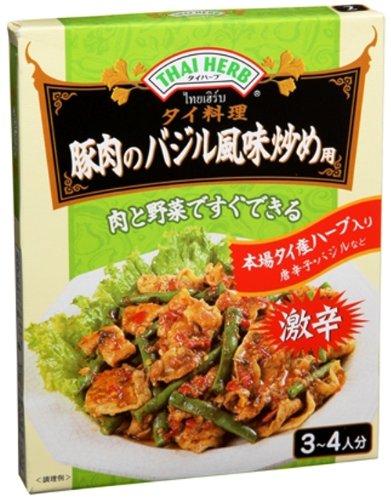 ユウキ タイハーブ・豚肉のバジル風味炒め 100g