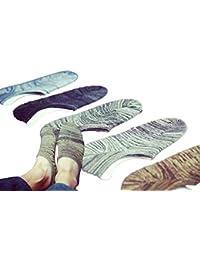 Various Ways メンズ 靴下 【ショート丈 ソックス5足組 】セット  カジュアル  メンズ  紳士  靴下  ソックス   25cm~27cm  足 スニーカー にも 最適