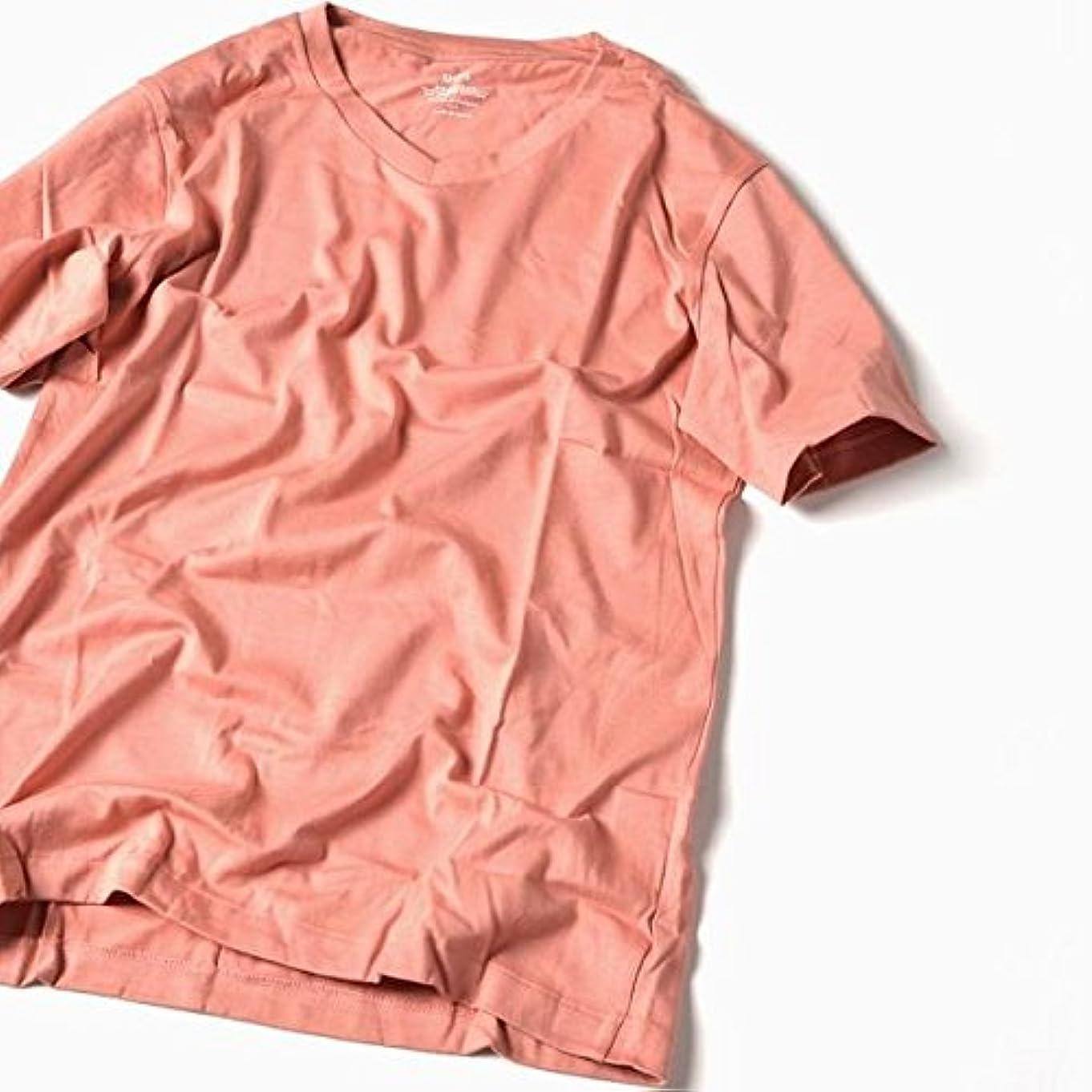 ホーンチャンバー悪名高いシップス(メンズ)(SHIPS) SC: アメリカンシーアイランドコットン Vネック Tシャツ