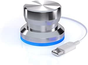 Griffin Technology NA16029 PowerMate 【カスタマイズ可能なUSBマルチメディアコントローラー】 並行輸入品 [並行輸入品]