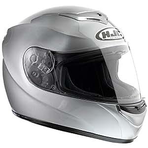 HJC(エイチジェイシー)バイクヘルメット フルフェイス シルバー M(57-58) CL-ST ソリッド HJH039